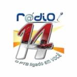 Logo da emissora Rádio 14