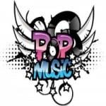 Logo da emissora Rádio Pop Music