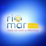 Logo da emissora Rádio Riomar 91.3 FM