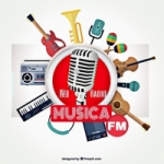 Logo da emissora Rádio Música FM
