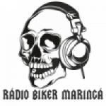 Logo da emissora Rádio Biker Maringá Pop