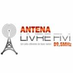 Logo da emissora Antena Livre FM