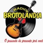 Logo da emissora Rádio Brotolândia