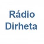 Logo da emissora Rádio Dirheta