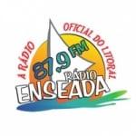 Logo da emissora Rádio Enseada 87.9 FM