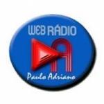 Logo da emissora Rádio Paulo Adriano