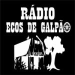 Logo da emissora Rádio Ecos de Galpão