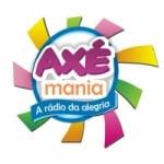 Logo da emissora Rádio Axé Mania