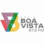 Logo da emissora Rádio Boa Vista 87.9 FM