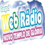Logo da emissora Web Rádio Novo Templo de Glória