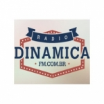 Logo da emissora Rádio Dinâmica FM