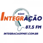 Logo da emissora Rádio Integração 87.5 FM