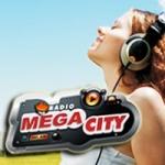 Logo da emissora Rádio Mega City