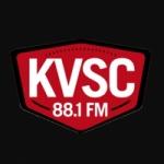 Logo da emissora KVSC 88.1 FM