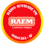 Logo da emissora Rádio Atividade FM