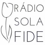 Logo da emissora Rádio Sola Fide