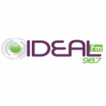 Logo da emissora Rádio Ideal 98.7 FM
