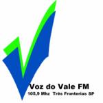 Logo da emissora Rádio Voz do Vale 105.9 FM