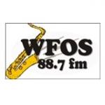 Logo da emissora WFOS 88.7 FM