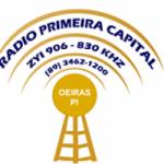 Logo da emissora Rádio Primeira Capital 830 AM