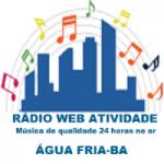 Logo da emissora Rádio Web Atividade