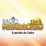 Logo da emissora Rádio Mandacaru 104.9 FM
