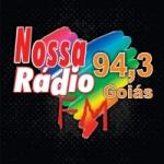 Logo da emissora Rádio Nossa Rádio 94.3 FM