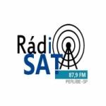 Logo da emissora Rádio Sat Peruibe 87.9 FM