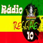 Logo da emissora Rádio Reggae 10