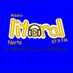 Logo da emissora Rádio Litoral Natal 87.9 FM
