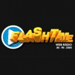 Logo da emissora Rádio Flash Time