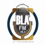 Logo da emissora Radio Blá FM 88.1