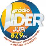Logo da emissora Rádio Lider Jupi 88.7 FM