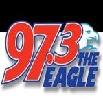 Logo da emissora WGH 97.3 Eagle FM