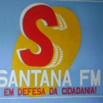 Logo da emissora Rádio Santana 104.9 FM