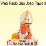Logo da emissora Web Rádio Paróquia São João Paulo II