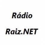 Logo da emissora Raiz.Net