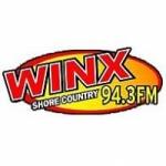 Logo da emissora Radio WINX 94.3 FM