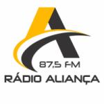 Logo da emissora Rádio Aliança 87.5 FM