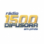 Logo da emissora Rádio Difusora 1500 AM