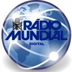 Logo da emissora Rádio Mundial