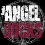 Logo da emissora Rádio Angelrocks