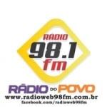 Logo da emissora Rádio Web 98 FM