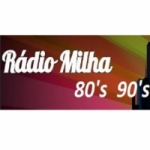 Logo da emissora Rádio Milha 80's 90's