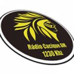 Logo da emissora Rádio Cacique 1230 AM