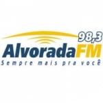 Logo da emissora Rádio Alvorada 98.3 FM