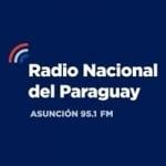 Logo da emissora Radio Nacional Del Paraguay 95.1 FM