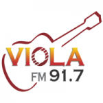 Logo da emissora Rádio Viola 91.7 FM