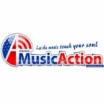 Logo da emissora Music Action