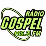 Logo da emissora Rádio Gospel 105.3 FM